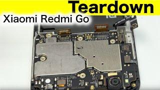 Xiaomi Redmi Go Teardown & Disassembly & Repair Video Guide