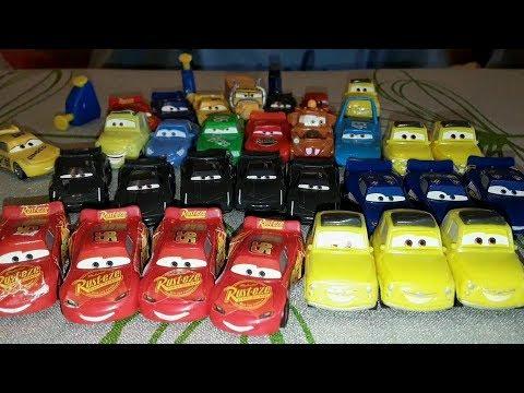 ТАЧКИ 3 Машинки с Киндер Сюрпризов #Cars3KinderSurprise