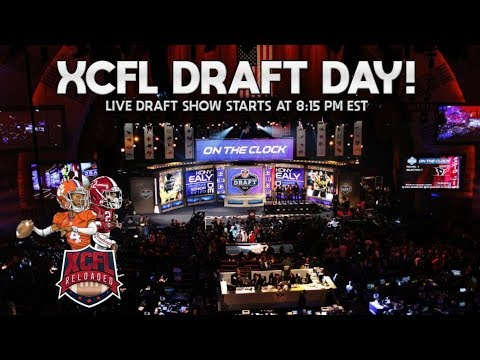XCFL Live Rookie Draft | Season 17 | XCFL LIVE Rookie Draft Show