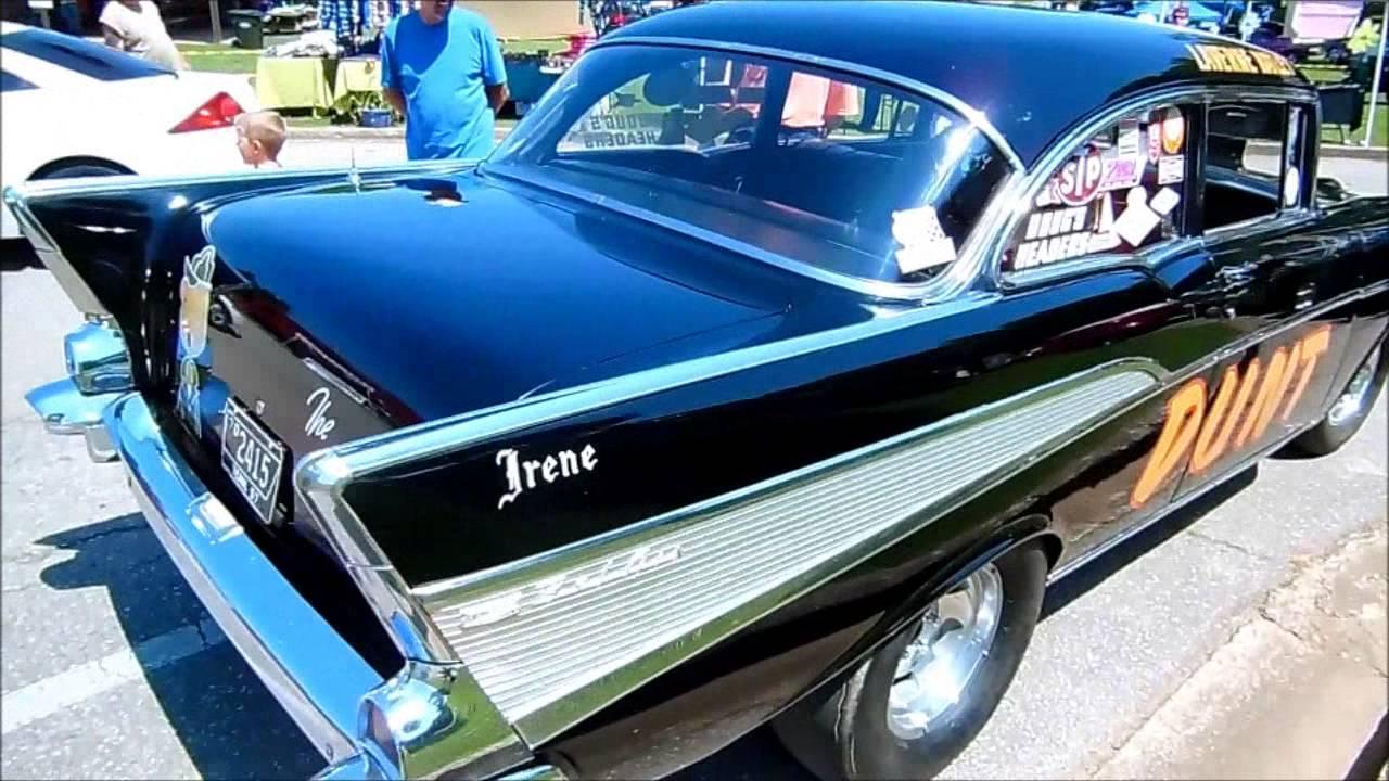 57 CHEVY DRAG CAR SURVIVOR !!! - YouTube