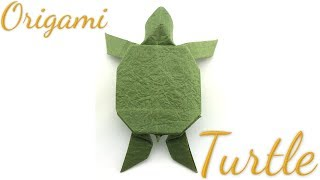 Simple Origami Turtle Tutorial (Hyo Ahn)