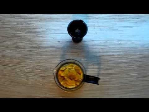 Чай с апельсином и мятой