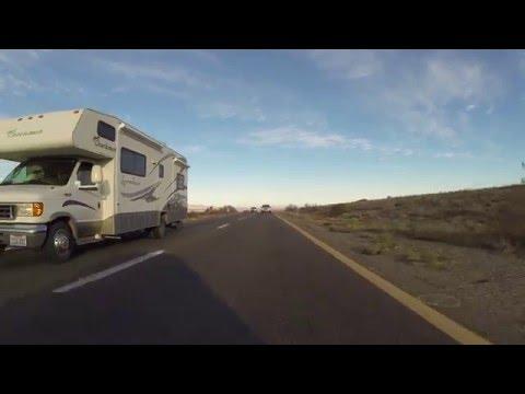 U.S. Route 93 South nearing Kingman, Arizona, 19 December 2015, GP030040