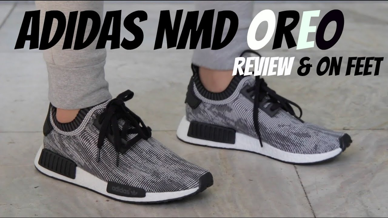 vnpelx Adidas NMD Runner \'Core Black\' Review & On Feet - YouTube