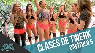 ¡Las chicas toman clases de twerk! | Los Perlas