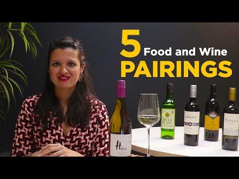 Top 5 Food And Wine Pairings | Easy Wine And Food Pairing Tips