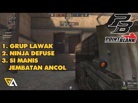 Point Blank Zepetto - Grup Lawak, Ninja Defuse, Si Manis Jembatan Ancol (PB Indonesia) - 동영상
