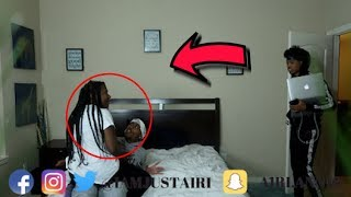 LETS START A FAMILY PRANK ON TRAY FROM CHRIS AND TRAY