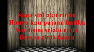 Papinka -  Sana Sini Rindu (Video Lyrics)