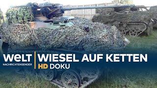 Wiesel Kettenfahrzeug - Feuerkraft für die Fallschirmjäger | HD Doku