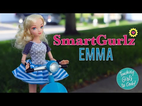 SmartGurlz Emma with Siggy Robot - Coding Fashion Doll Review