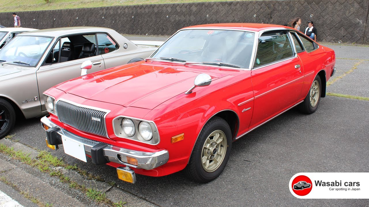 Wow A 1977 Mazda Cosmo Ap Not Rx 5 Or 121 Youtube