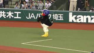 埼玉西武ライオンズ対東京ヤクルトスワローズ メットライフドーム 20...