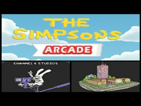 The Simpsons Arcade #03 - Channel 6 Studio (Java Game)