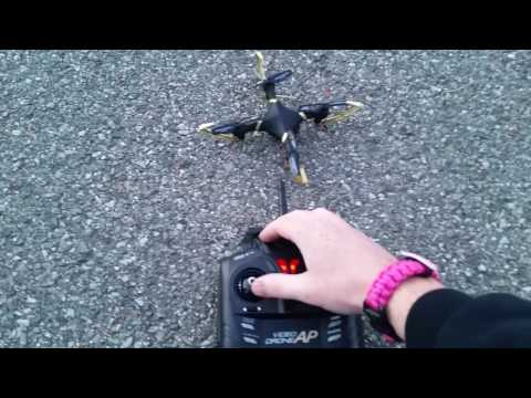 AP Video Drone Startup and Hover
