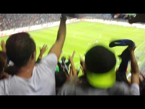 Inter - Milan 1-0 13.9.15 - Squadra sotto la curva dopo la partita - YouTube