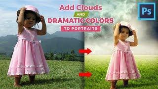 Photoshop CC Tutorial - Fantasy Looks Photo Effect Editing | Soft Light Photo Effect FREE PSD