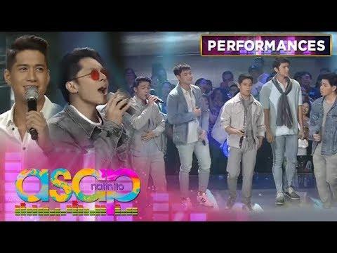 Kapamilya heartthrobs Carlo, Aljur and BoybandPH sing 'Ulan' | ASAP Natin 'To