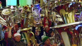 It's beginning to sound a lot like Tuba Christmas