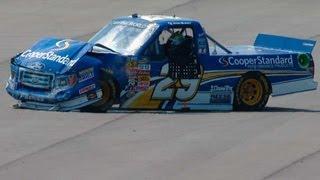 NASCAR Ryan Blaney crashes into the wall | Michigan International Speedway