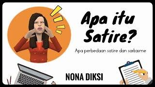 Apa itu Satire? Apa perbedaan Satire dan Sarkasme?
