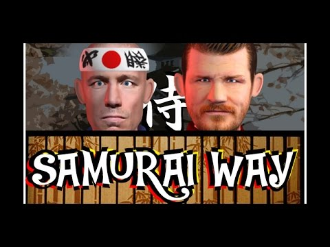 MMA Comedy Animations: Samurai Way - george st pierre - michael bisping