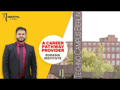 Take a tour to Eurasia Campus with Amratpal Sohal | German l