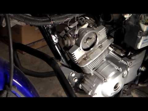 Как установить голову цилиндра на мотоцикле YAMAHA YBR 125