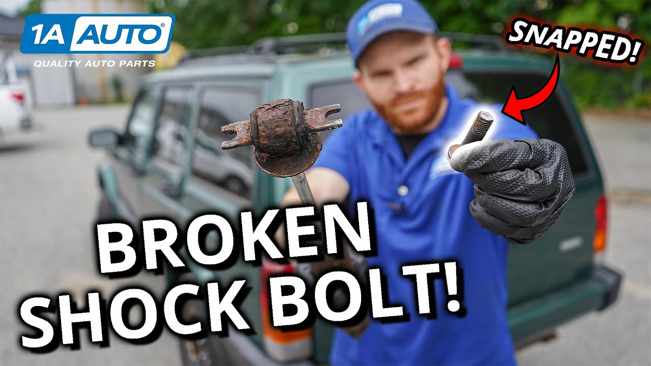 Broke a Bolt While Replacing Shocks on Your Truck or SUV? Try These Tips!