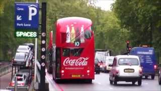 Buses in Park Lane 05/10/2015