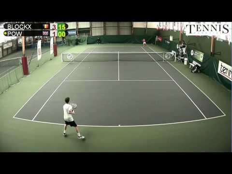 BLOCKX (BEL) vs POW (GBR) - Open Super 12 Auray Tennis - Court 1