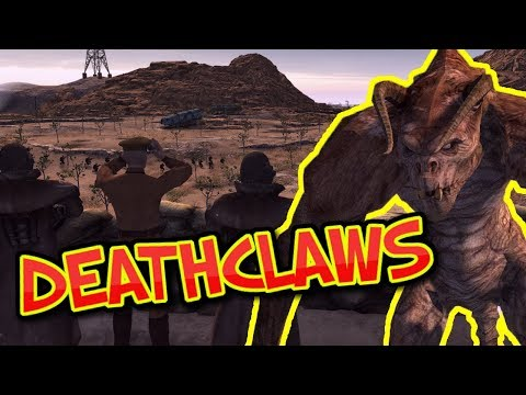 DEATHCLAWS & AREA 51- Fallout : Men of War - Episode 2