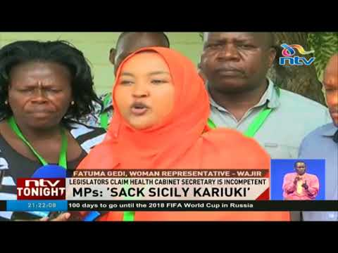MPs call for sacking of CS Sicily Kariuki over KNH surgery blunder