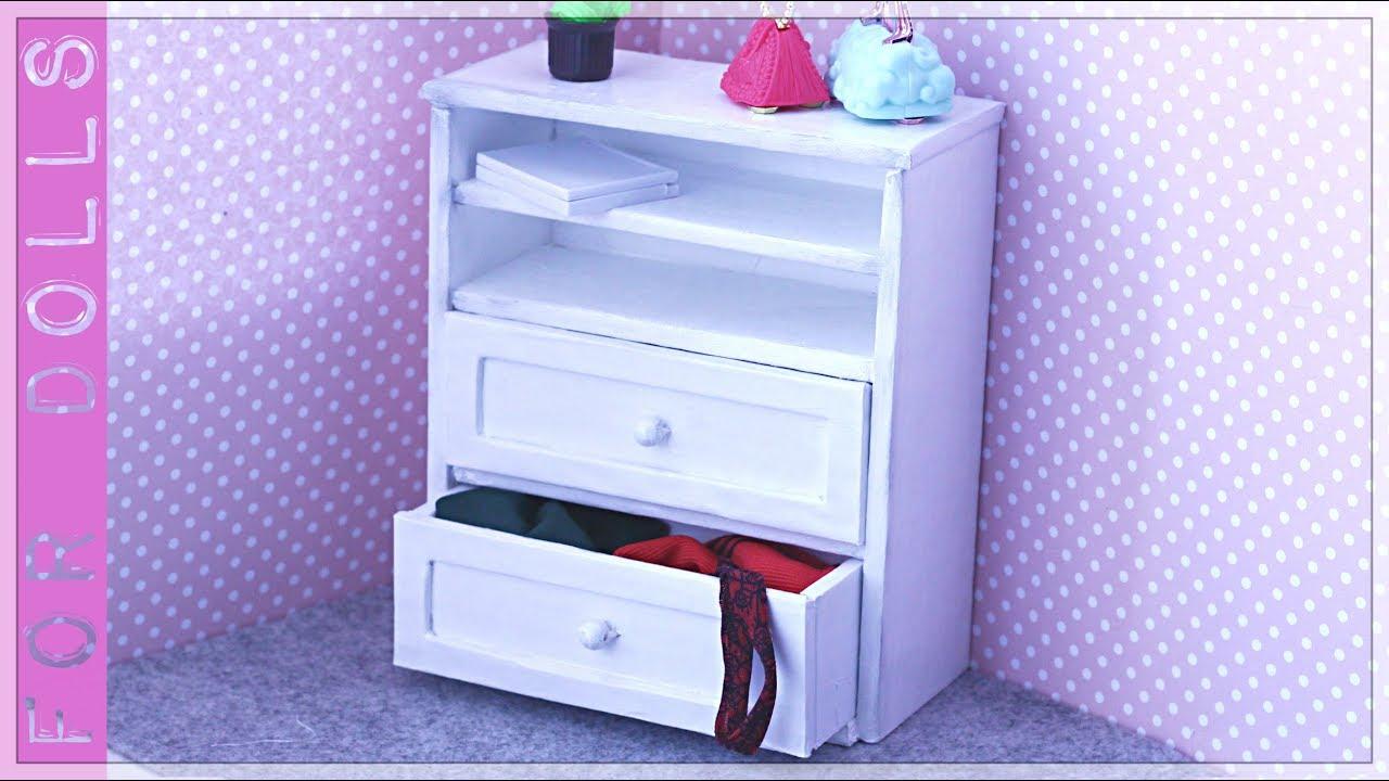 Как сделать мебель для кукол барби фото 297