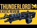 Destiny 2 Forsaken: Thunderlord Exotic Weapon Review