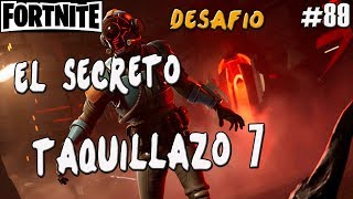 FORTNITE'S SECRET CHALLENGE ? BOX 7 GUIA BATTLE ROYALE ENGLISH