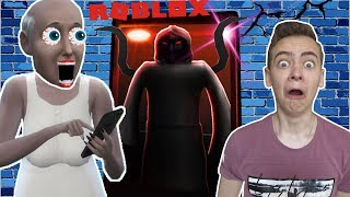 СТРАННЫЙ ЛИФТ В РОБЛОКС БАБУШКА ГРЕННИ ИГРАЕТ С ДИМОЙ The Elevator Remade ROBLOX