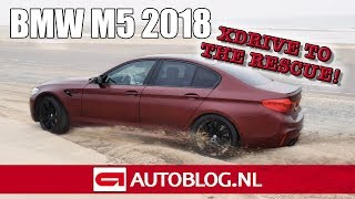2018 BMW M5 First Edition rijtest