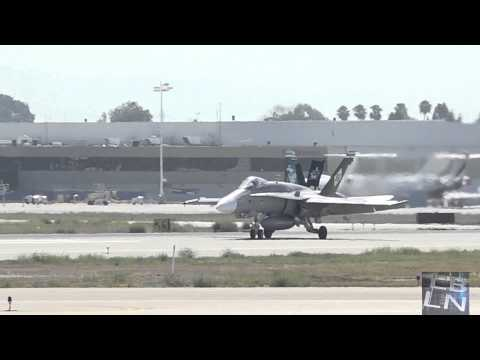 USMC​ Fighter Jet Pilots visit Long Beach Airport​ this Labor Day Weekend