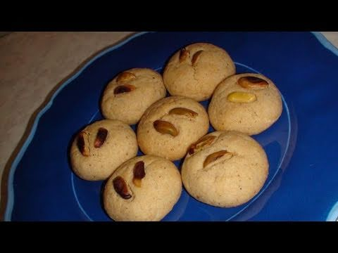 Nankhatai or Nan Khatai Recipe Video - Indian cookie recipe