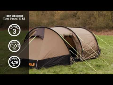 Jack Wolfskin Time Tunnel III RT Tent | Cotswold Outdoor product video - YouTube : tents cotswold - memphite.com