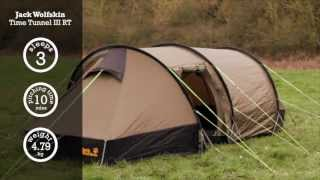 Jack Wolfskin Time Tunnel III RT Tent | Cotswold Outdoor product video