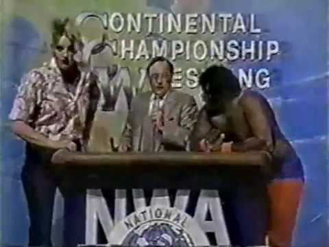 NWA Continental Championship Wrestling 1/11/86