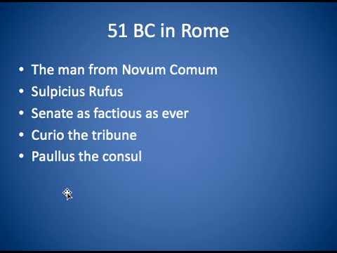 Caesars Consulship and the Gallic War Part 4 vid