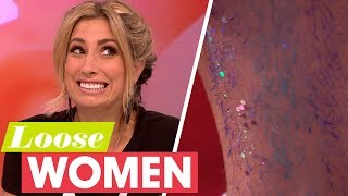 Stacey Proudly Shows Off Her Hairy Legs | Loose Women