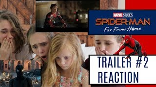 SPIDER-MAN: FAR FROM HOME Official Trailer Reaction!
