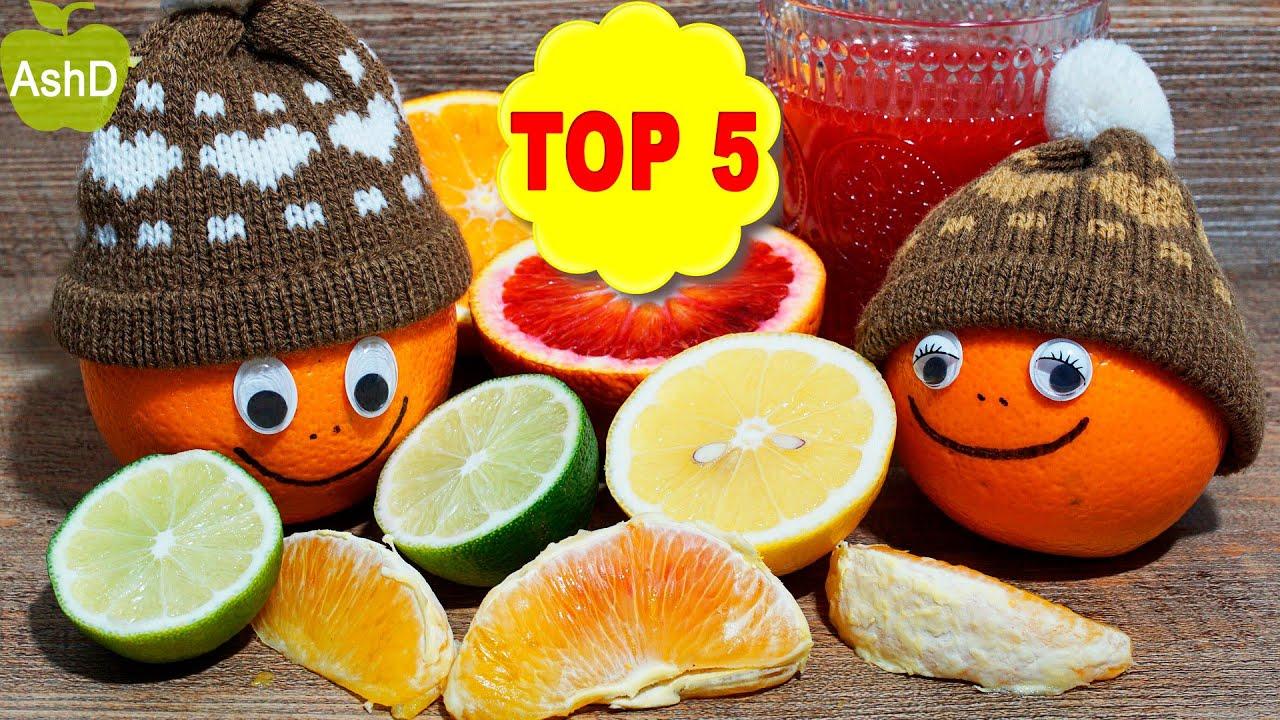 LOS 5 ALIMENTOS CON MÁS VITAMINA C   TOP 5
