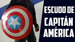 CÓMO hacer el ESCUDO de CAPITÁN AMÉRICA | AVENGERS | DIY CAPTAIN AMERICA SHIELD