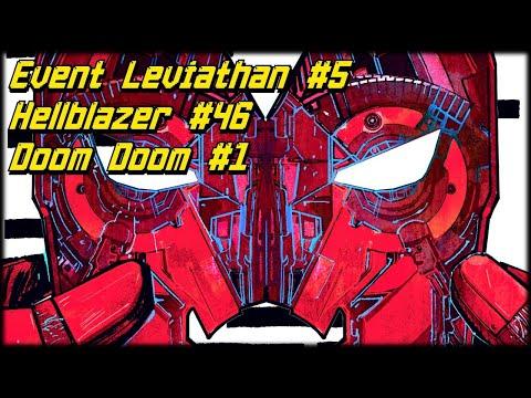 Новинки 09.10: Event Leviathan #5, Doctor Doom #1, Hellblazer #46