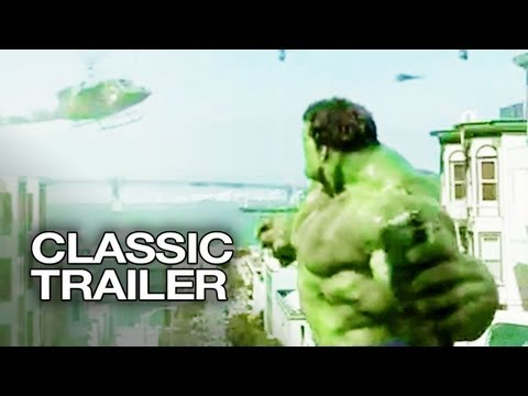 Random Movie Pick - Hulk (2003) Official Trailer #1 - Erica Bana Movie HD YouTube Trailer